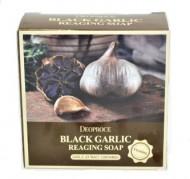 Отзывы Мыло антивозрастное с черным чесноком DEOPROCE Soap black garlic reaging 100г