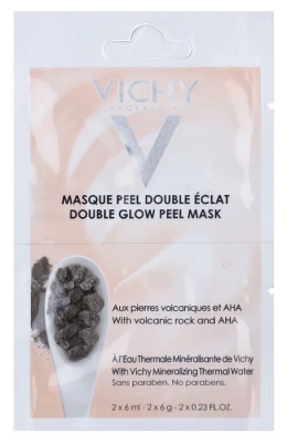 """Минеральная маска-пилинг """"Двойное сияние"""" VICHY Double Glow Peel Mask 6мл*2шт: фото"""