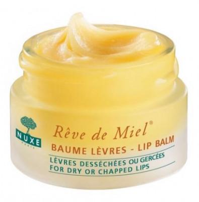 Бальзам для губ восстанавливающий с медом NUXE Reve de Miel Lip balm 40 г: фото