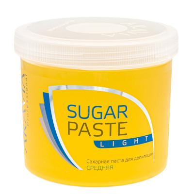 Сахарная паста для депиляции Легкая, средней консистенции Aravia Professional 750г: фото
