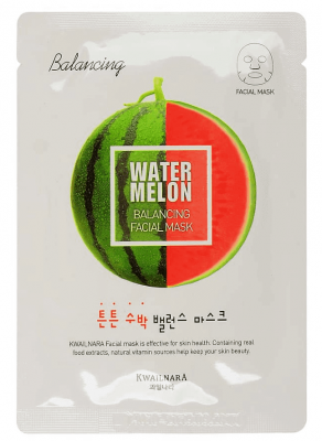 Маска для лица Welcos Kwailnara Watermelon Balancing Facial Mask: фото