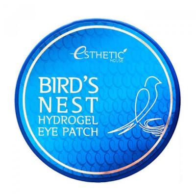 Гидрогелевые патчи для глаз ЛАСТОЧКИНО ГНЕЗДО ESTHETIC HOUSE BIRD'S NEST HYDROGEL EYEPATCH 60шт: фото