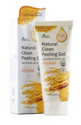 Пилинг для лица с рисовыми отрубями Ekel Peeling Gel Rice Bran 180мл: фото