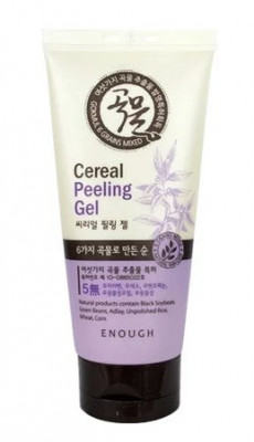 Гель-пилинг для лица с экстрактом злаков Enough 6 Grains mixed cereal peeling gel 150мл: фото