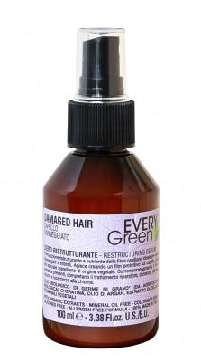 Реструктурирующая сыворотка для поврежденных волос Dikson EVERY GREEN restructuring serum 100мл: фото