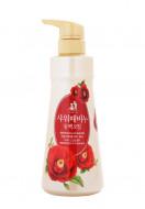 Жидкое мыло-скраб для тела SHOWER SCRUB SOAP Camellia Seed Oil 500мл: фото