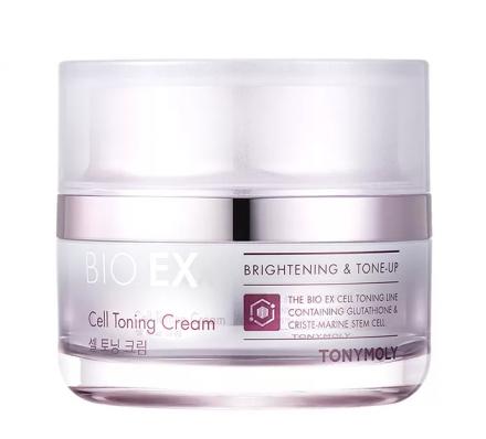 Антивозрастной крем для лица тонизирующий TONY MOLY BIO EX Cell Toning Cream 60мл: фото