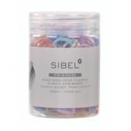 Резинки силиконовые Sibel Primrose 20мм цветные 500шт: фото