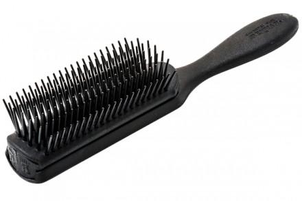 Щетка для волос 7 рядов Denman Classic Noir средняя: фото